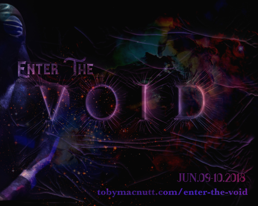 Enter the Void promo save-the-date for June 9-10